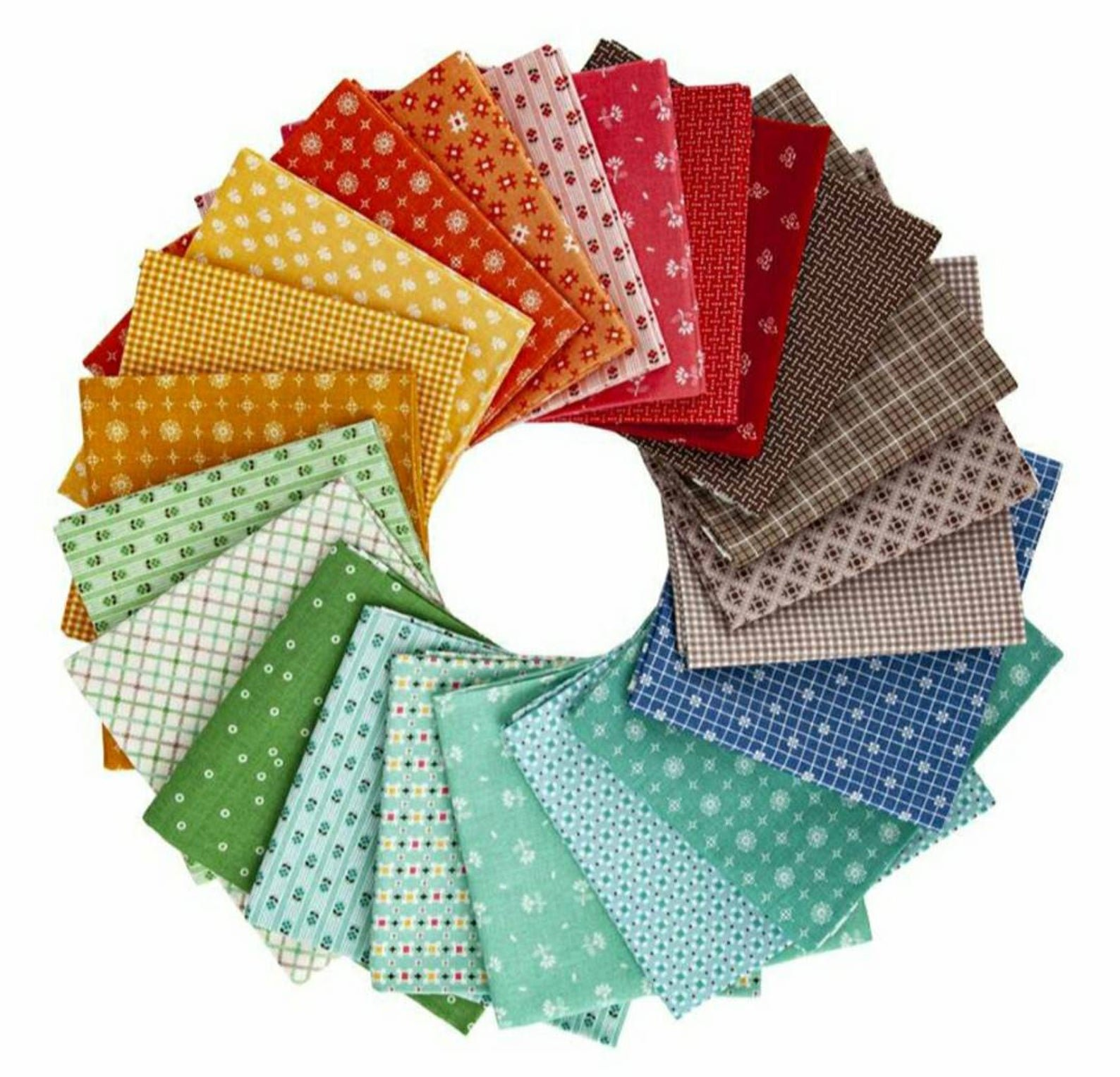 Prim Fat Quarter Bundle - 42pcs
