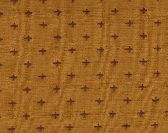 Diamond Textiles Manchester Yarn Dyed Woven Mustard/Grape
