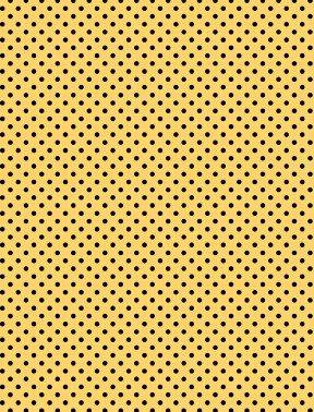 Follow the Sun Dots on Yellow