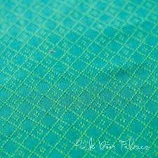 Diamond Textiles Nikko Yarn Dyed Woven  Lagoon