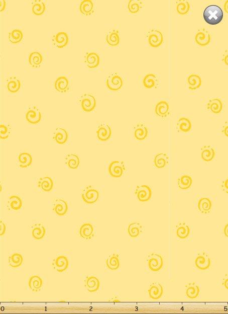 SusyBee Mono Swirl yellow