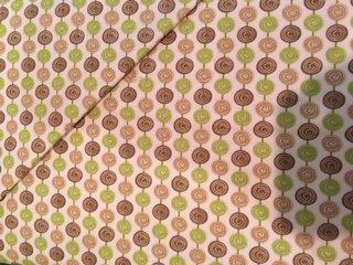 Riley Blake-Alphabet Soup Green/Brown Circles