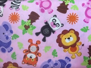 Wild Things Pink Animals