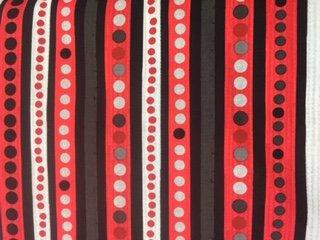 On Track Red/Gray/Black Stripe