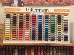 Gutermann 100% Cotton Thread - 251m/274yds