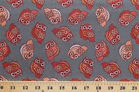 Night Owls Grey w/owls