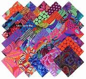 Kaffe Fassett 5 Charm Pack - Bright (42pc)