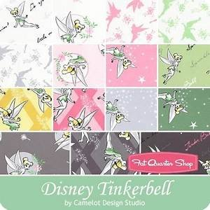 Tinker Bell Fat Quarter Bundle