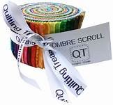 Ombre Scroll 30  2 1/2 Strips
