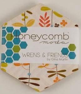Wrens & Friends Honeycomb Hexagons