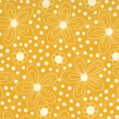 Lollipop Yellow Floral