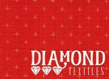 Diamond Textiles Manchester Yarn Dyed Woven Orange