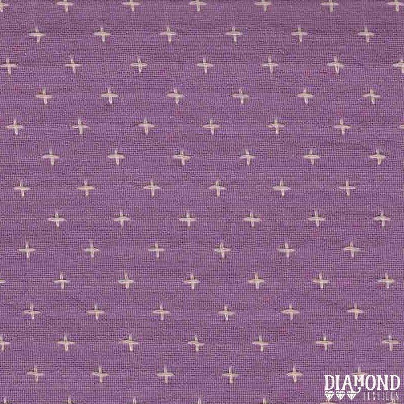 Diamond Textiles Manchester Yarn Dyed Woven Duchess Lilac