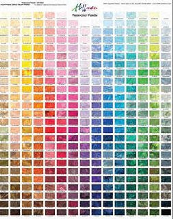 Hoffman Water Color Palette