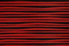 Alexander Henry Red & Black  Stockade Stripe