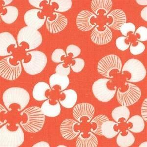 Good Fortune Orange Floral