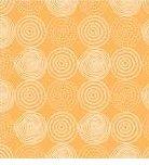 Basics - Geometric Circles on Orange