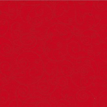108 Red Swirl-Flannel Wide Back