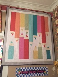 Pencil Sketch Quilt Kit w/ pattern