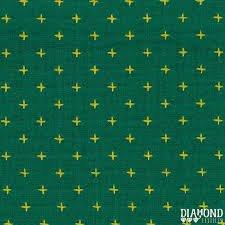 Diamond Textiles Manchester Yarn Dyed Woven Teal/Lemon