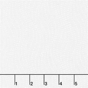 Simply Neutral white/white wavy dots