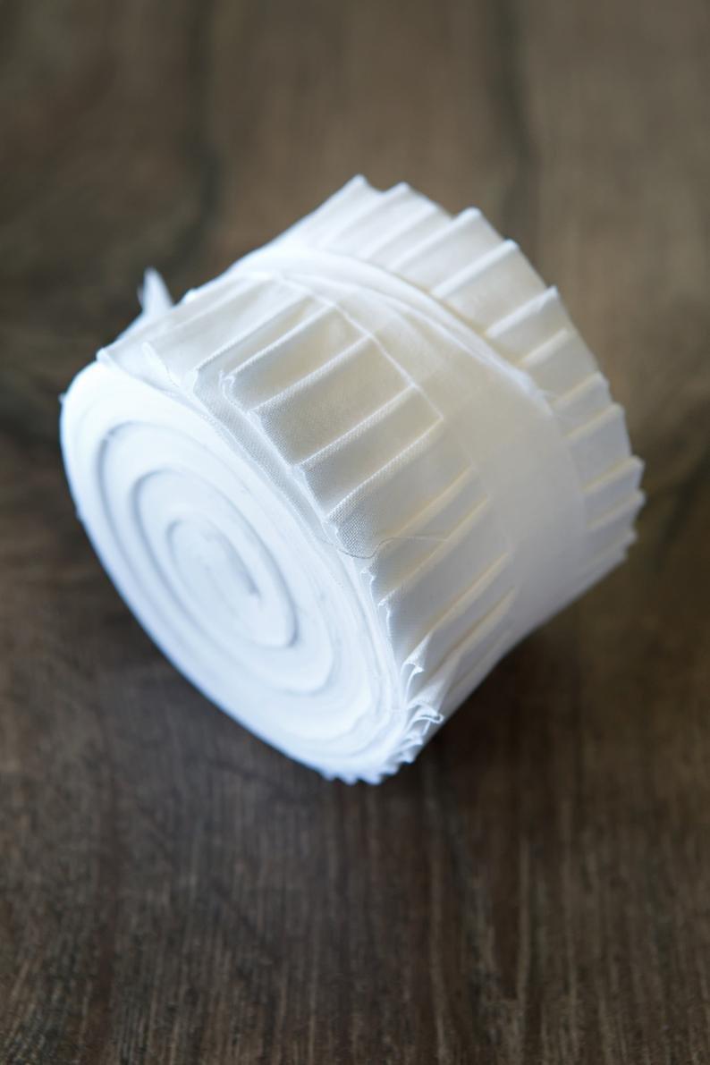 Benartex Solid White Pinwheel