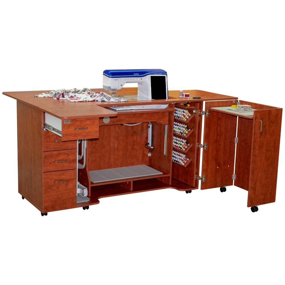Horn 8479 Combo Sewing/Embroidery/Serger Cabinet
