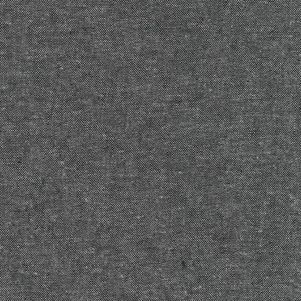 Essex Yarn Dyed CHARCOAL 55% LINEN 45% COTTON