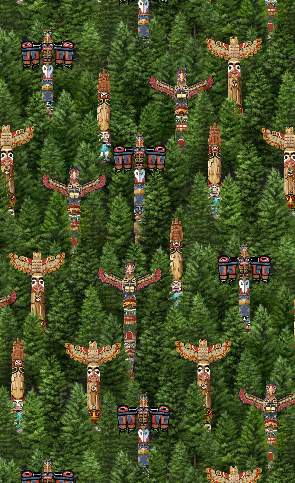 Discover Canada - Totems 17863 268
