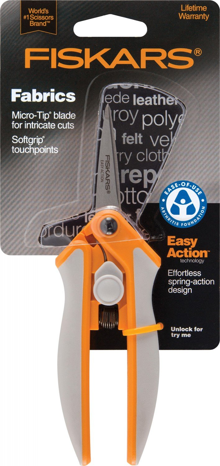 Softouch® Spring-action Scissors, 5 inch