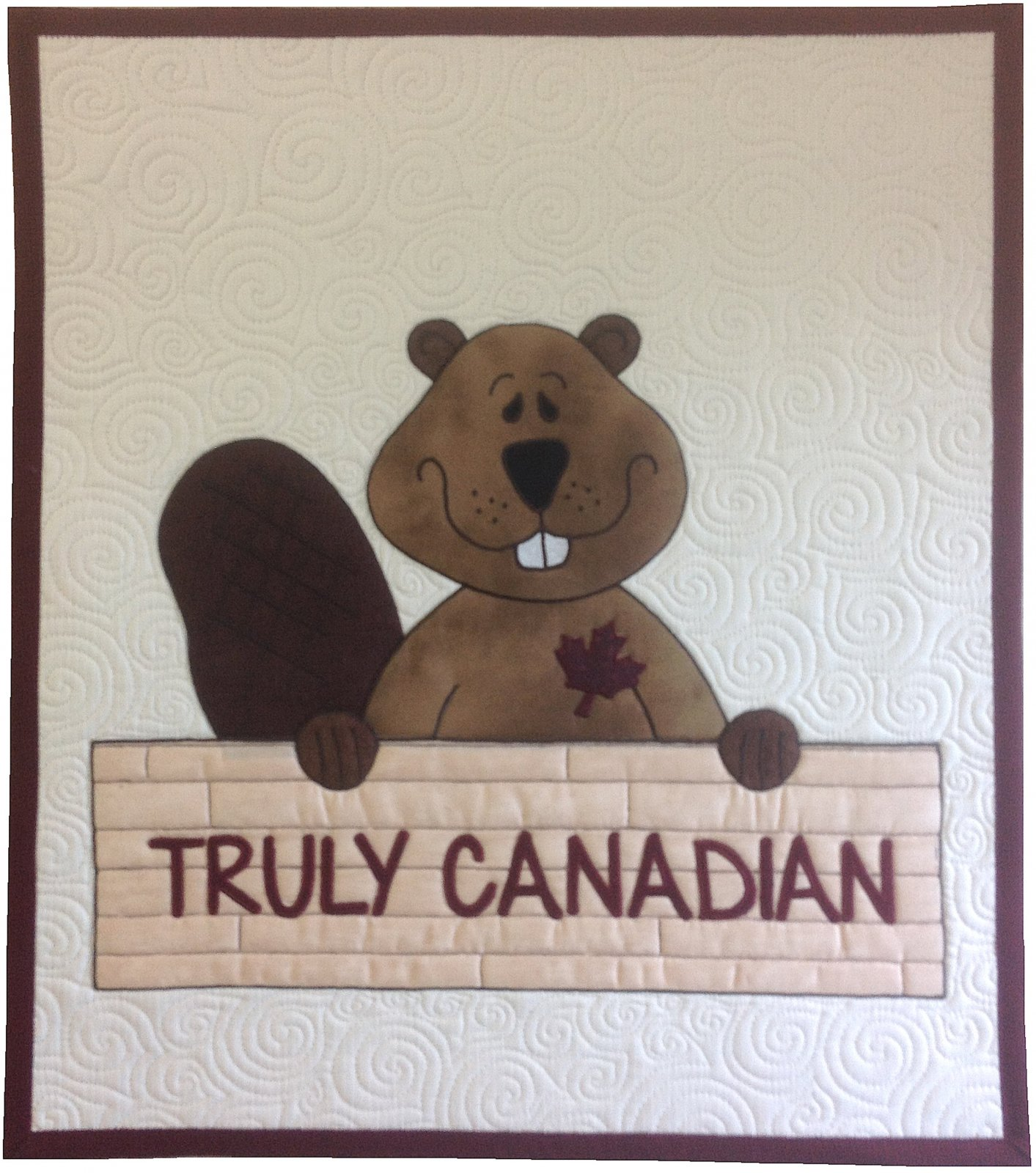 Truly Canadian - Beaver Quilt
