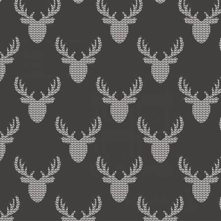 Reindeer Lodge 21191705 02 Knit Look Deer