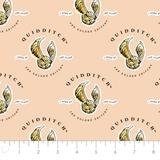 Harry Potter Fabric 23800524 03 Wizarding World Quidditch Peach