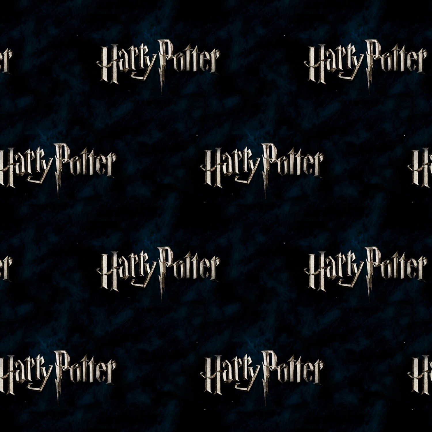 Harry Potter Silver Logo