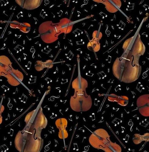 Stringed Instrument Fabric JAZZ 240 Black