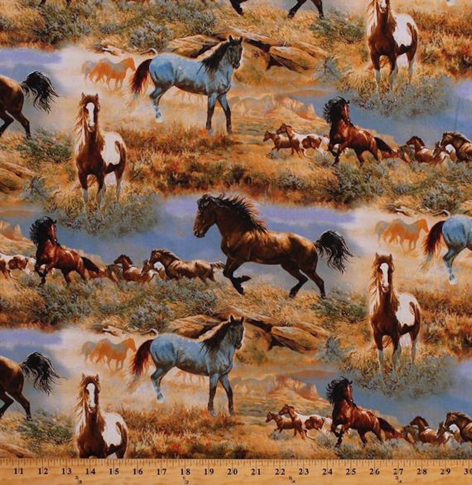 Horses in the Prairies DT-3060-6C-1