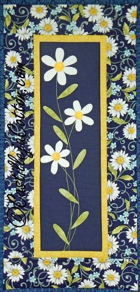 Daisies Wall Quilt