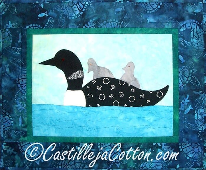 Free Ride Wall Quilt