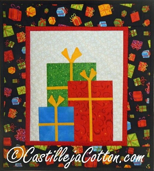 Holiday Gifts Wall Quilt