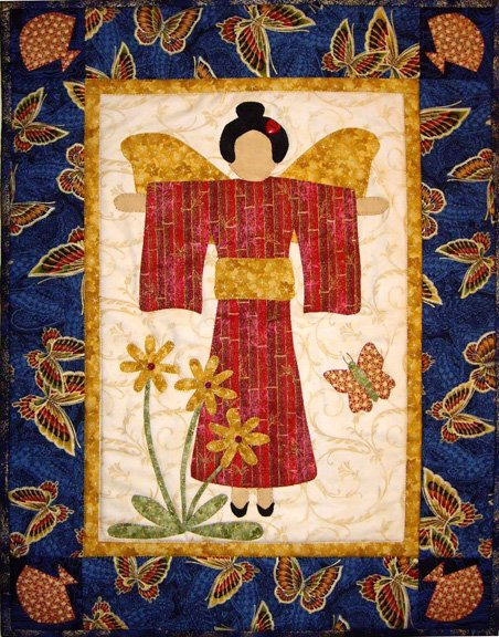 Novelty - Asian Angel Pattern
