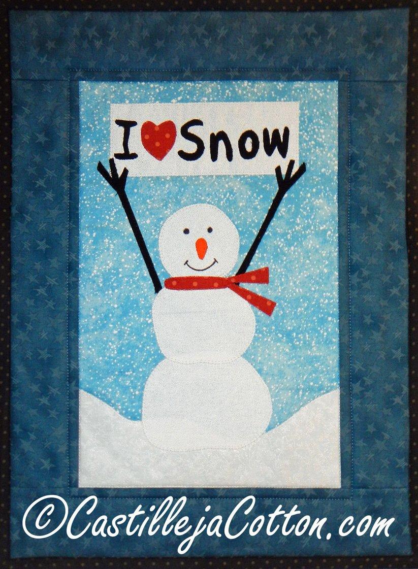 A Winter Sale Kit - I Love Snow Kit