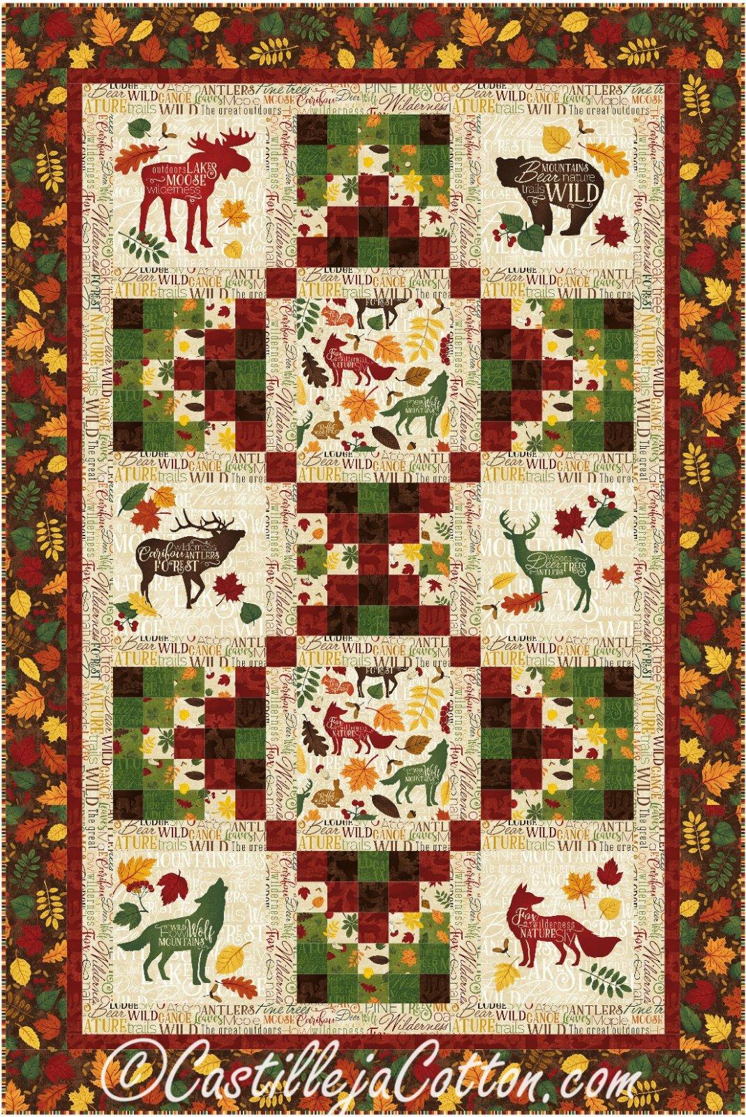 Autumn Woods Quilt Kit