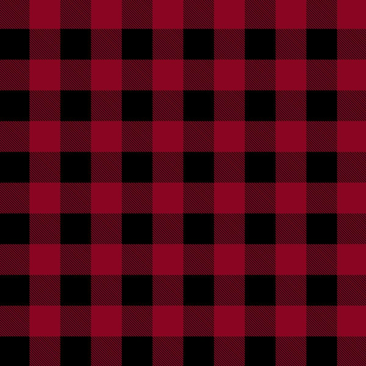 Canadian Christmas Buffalo Check 51869D 1 Red