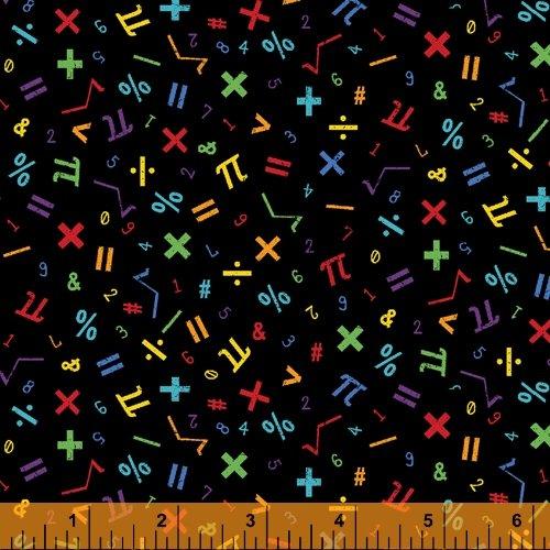 Math Fabric 52041-5 It's Elementary