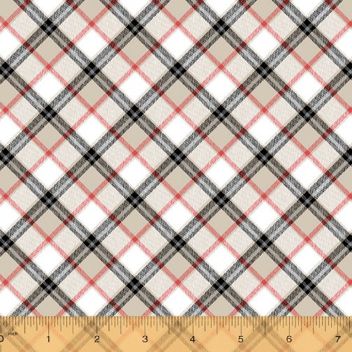 London Collection by Windham Fabrics 52345 1 Ivory