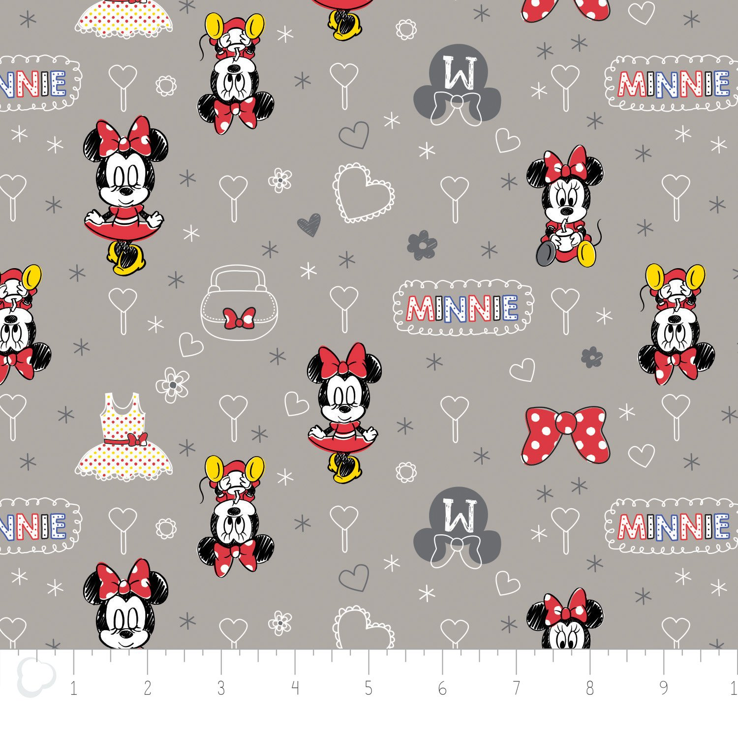 Disney - Minnie Mouse grey