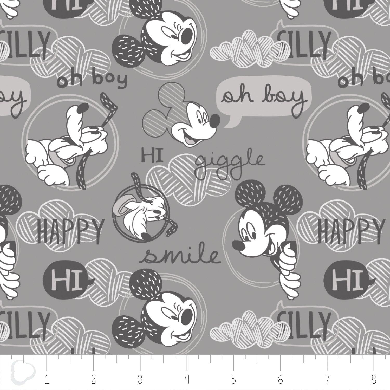 Disney - Mickey and Friends (grey)
