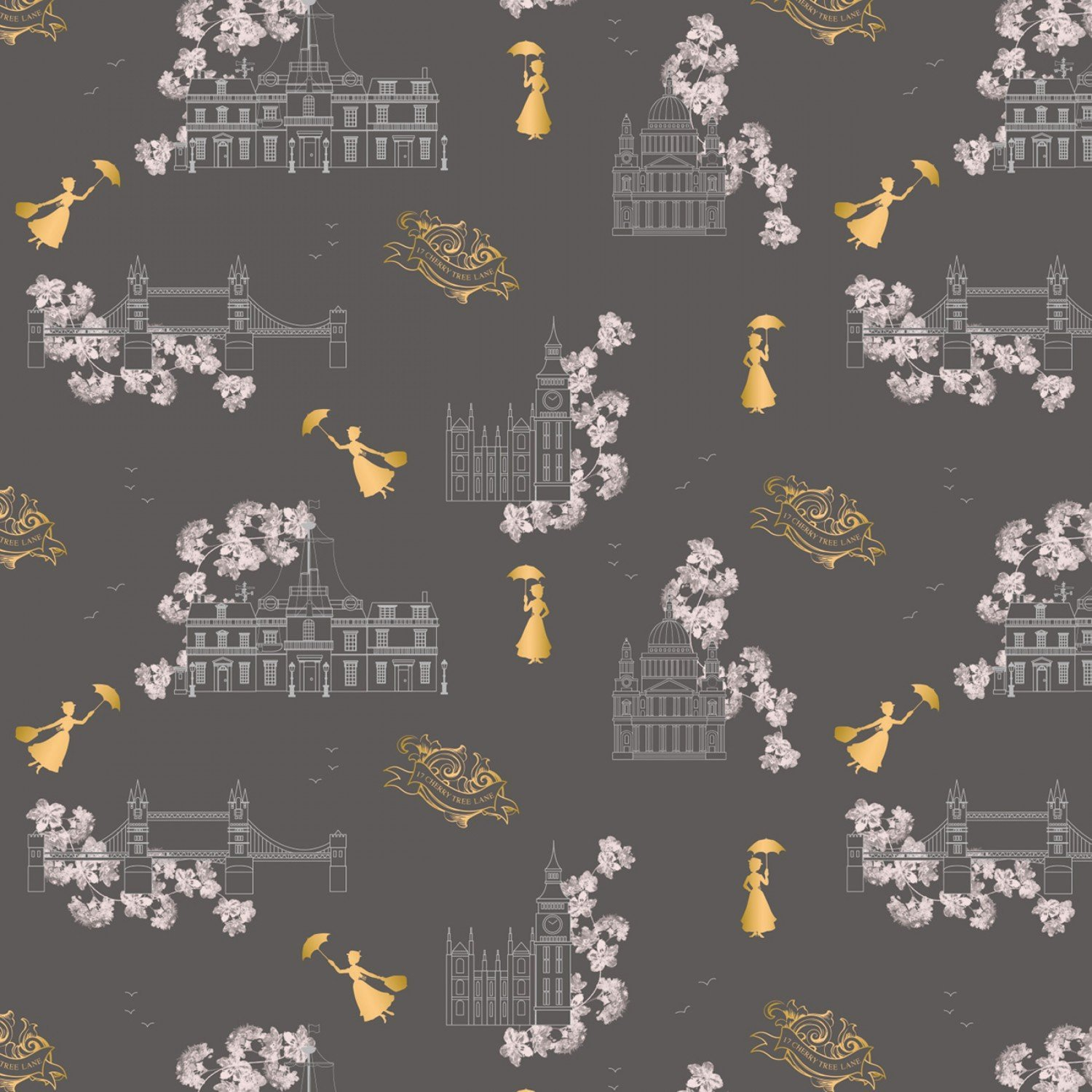 Mary Poppins 85460102L 03 Toile Metallic