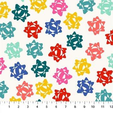 Bows - Peppermint White Multi 90374 10
