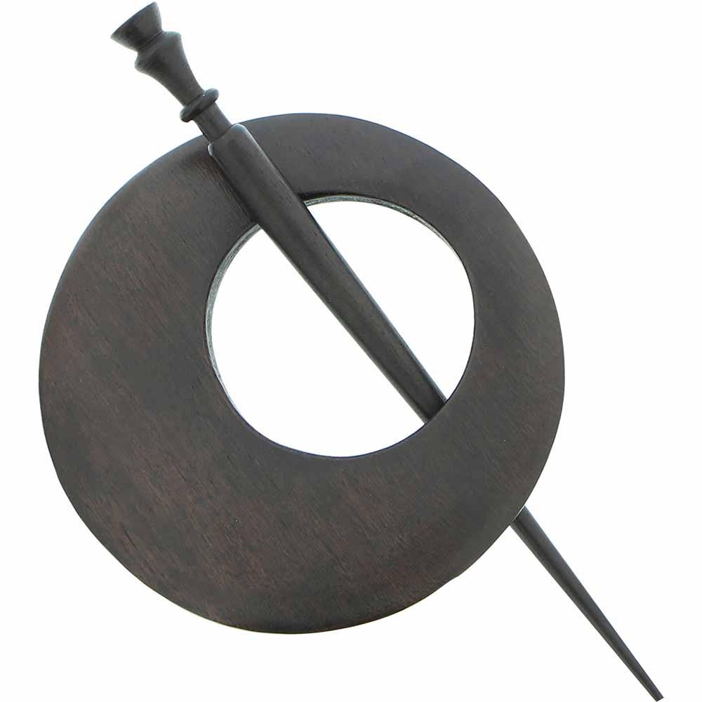 INSPIRE Shawl Pin - 78mm (3 1/8) - Wood